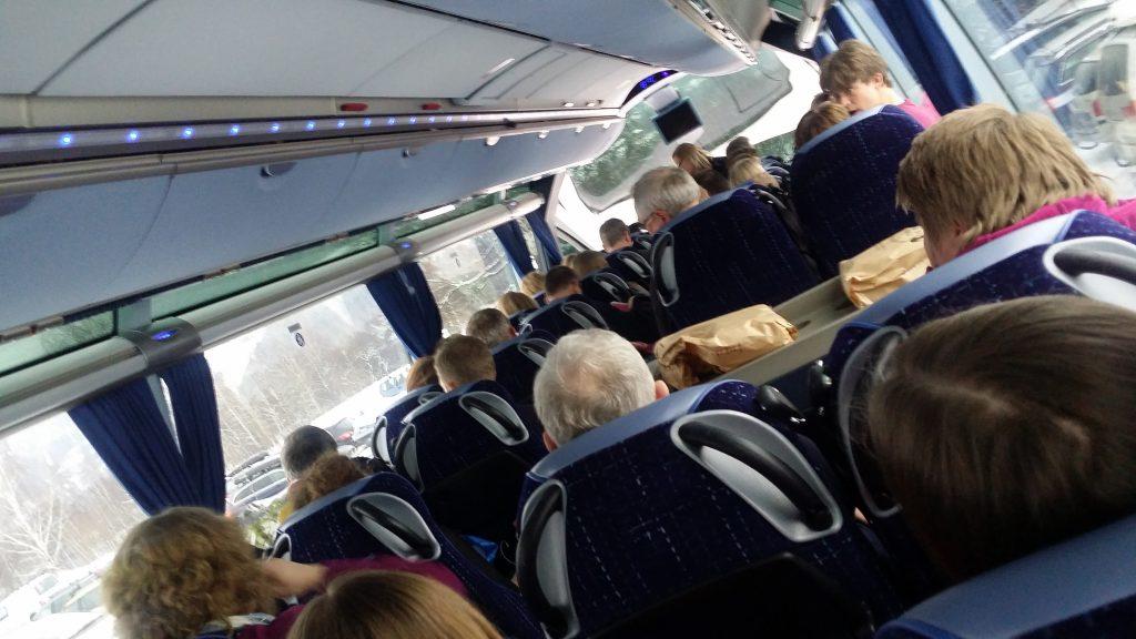 På vei til Trondheim
